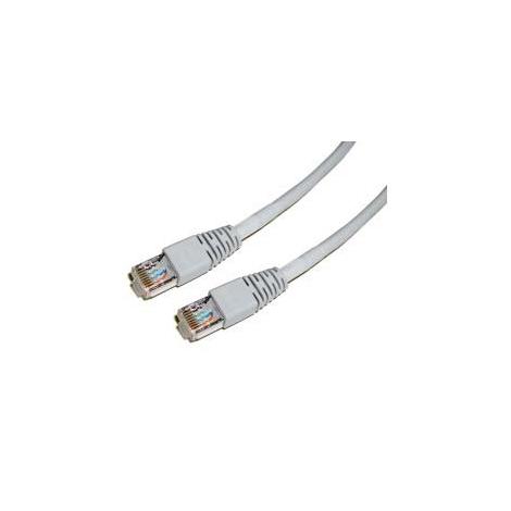 Cable Kablex red RJ45 CAT 5 2M Grey