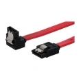 Cable Kablex Sata Disco Duro 0.5M Acodado + Clips Sujecion