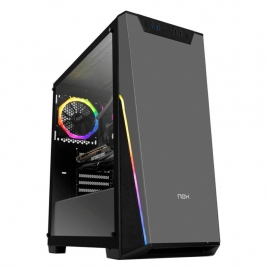 Caja Mediatorre ATX NOX Infinity Sigma Window USB 3.0 Black