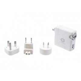 Cargador USB Conceptronic 5V 2Xusb Travel para Casa Y Coche