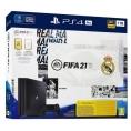 Consola Sony PS4 PRO 1TB + Fifa 21 + PSN 14 Dias VER. Real Madrid