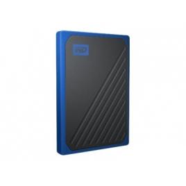 Disco SSD USB Western 500GB MY Passport GO USB 3.1 Black / Cobalt