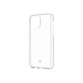 Funda Movil Back Cover Celly Hexalite Transparente/White para iPhone 11 PRO
