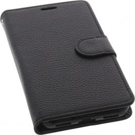 Funda Movil HT Leather Black para Gigaset GS370