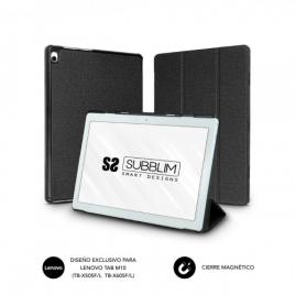 Funda Tablet Subblim Shock Case Black para Lenovo M10 TB-X505F/L TB-X605F/L
