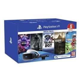 Gafas Sony Playstation VR + Camara + Mega Pack 2 (5 Juegos)