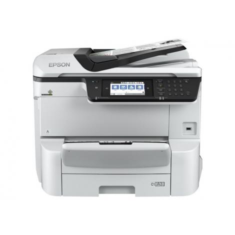 Impresora Epson Multifuncion Workforce PRO WF-C8690DWF A3 35PPM FAX NFC USB LAN WIFI Duplex
