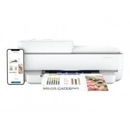Impresora HP Multifuncion Envy PRO 6420 10PPM USB WIFI BT White