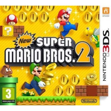 Juego Nintendo 3DS NEW Super Mario Bros 2