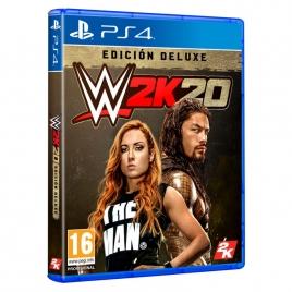 Juego PS4 WWE 2K20 Edicion Deluxe