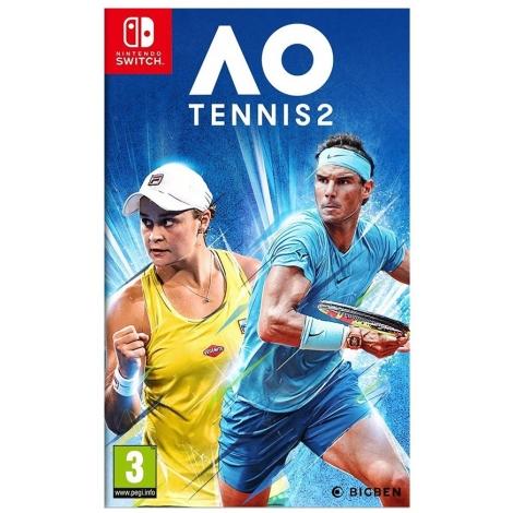 Juego Switch AO International Tennis 2