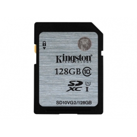 Memoria SD Kingston 128GB Class 10 UHS-I