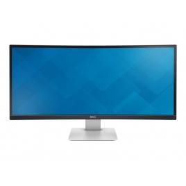 """Monitor Dell 34"""" IPS Uwqhd U3415W 3440X1440 5ms 2Xhdmi DP Minidp Piv / Reg Black/Silver"""
