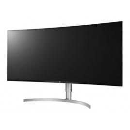 "Monitor LG 37.5"" IPS Uwqhd+ 38WK95C-W Curvo 3840X1600 5ms 2Xhdmi DP USB-C MM Reg Silver"