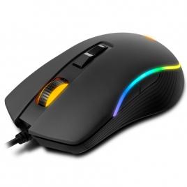 Mouse Krom Optical Kane 4000DPI Retroiluminado USB Black