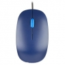 Mouse NGS Optical Flame 1000 DPI Blue USB