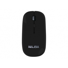 Mouse Nilox MW30 Optical Wireless Black