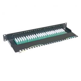 Patch Panel CAT. 3 Telephone 50 Ports 1U