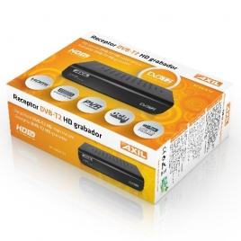 Receptor TDT Grabador DVB-T2 Axil RT0420T2 HD USB