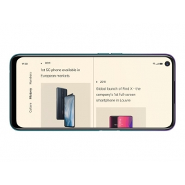 "Smartphone Oppo A72 6.5"" OC 4GB 128GB 4G Android 10 Aurora Purple"