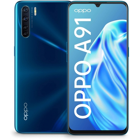 """Smartphone Oppo A91 6.4"""" OC 8GB 128GB 4G Android 9.0 Blazing Blue"""