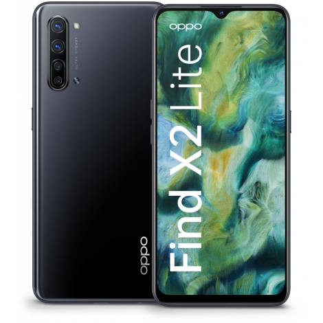 """Smartphone Oppo Find X2 Lite 6.4"""" OC 8GB 128GB 5G Android 10 Obsidian Black"""