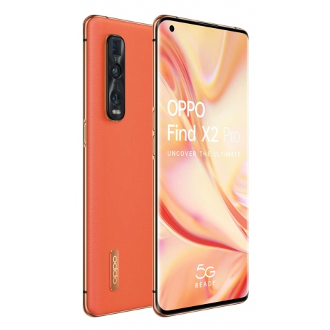 """Smartphone Oppo Find X2 PRO 6.7"""" OC 12GB 512GB 5G Android 10 Orange Leather"""