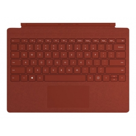 Teclado Microsoft Surface PRO Signature Type Cover Poppy red