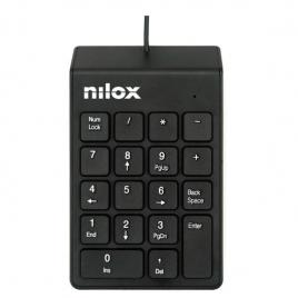 Teclado Numerico Nilox USB Black