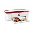 Impresora HP Multifuncion Deskjet 3764 19PPM USB WIFI White/Red