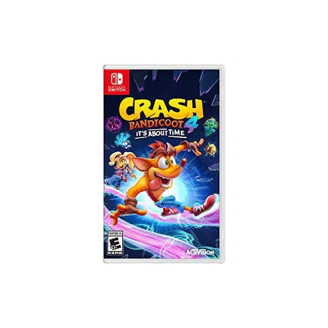 Juego Switch Crash Bandicoot 4: IT'S About Time