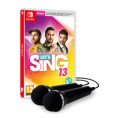 Juego Switch Lets Sing 13 + 2 Microfonos