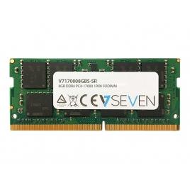 Modulo DDR4 8GB BUS 2133 V7 Sodimm