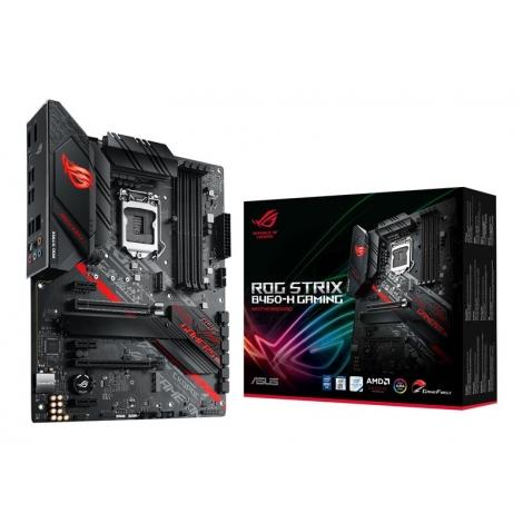 Placa Base Asus Intel ROG Strix B460-H Gaming Socket 1200 ATX Grafica DDR4 Sata6 Glan USB 3.2