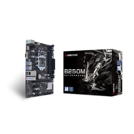 Placa Base Biostar Intel B250mhc Socket 1151 Matx Grafica DDR4 Glan USB 3.2
