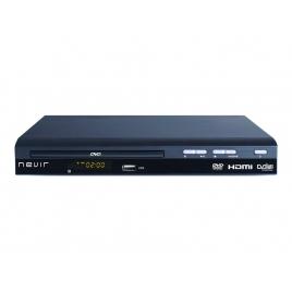 Reproductor DVD Nevir NVR-2356 DVD-T2HDU Sobremesa Black
