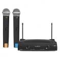 Sistema Microfono Nedis Wireless 2 Canales + 2 Microfonos