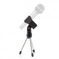 Soporte Nedis Microfono Mesa Black / Silver