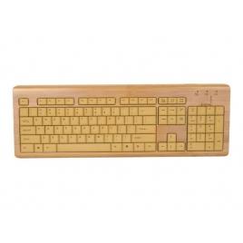 Teclado Urban Factory Bamboo USB