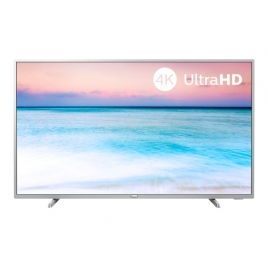 """Television Philips 50"""" LED 50PUS6554 4K UHD Smart TV Silver"""