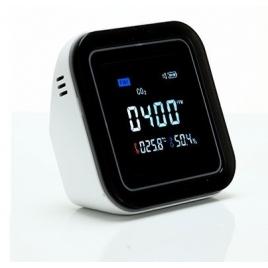 Medidor de CO2 Leotec Temperatura Y Humedad MCO201 LCD