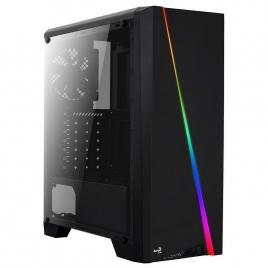 Caja Mediatorre ATX Aerocool Cylon RGB Black USB 3.0