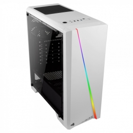 Caja Mediatorre ATX Aerocool Cylon RGB White USB 3.0