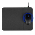 Alfombrilla NGS Cruise Wireless Charger QI Black + Mouse Wireless