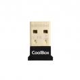 Adaptador Coolbox Bluetooth 4.0 Nano USB 3.1 15M