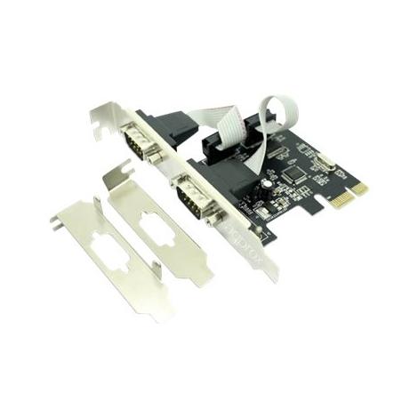 Controladora Approx PCIE 2 Serie + Bracket LP