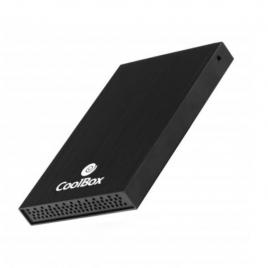 "Carcasa Disco Duro 2.5"" Coolbox Slimchase Sata USB 2.0 Black"