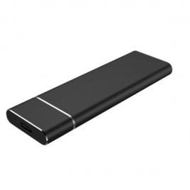 Carcasa Disco Duro SSD M.2 Coolbox Sata USB-C 3.0 Black