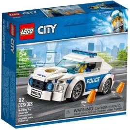 Construccion Lego Coche Patrulla de la Policia