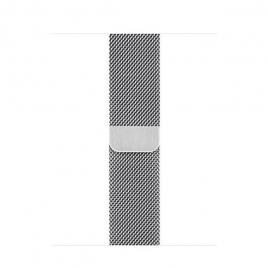 Correa Apple 40MM Milanese Loop Silver